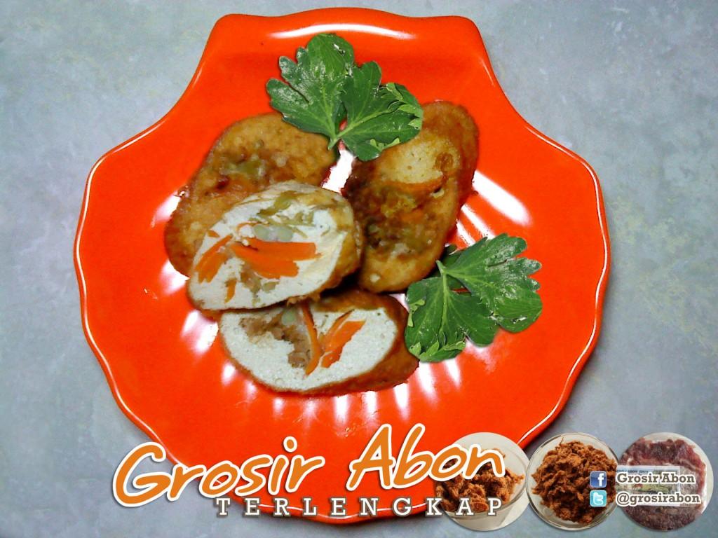 Rolade Tahu Abon Sapi | GrosirAbon.com
